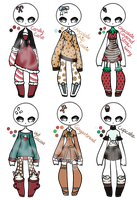 Open - Adopt Batch 29 - Sweets by Adopts-and-Designs