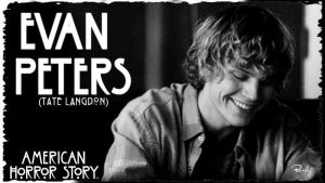 Evan Peters as Tate Langdon by BbeckyM
