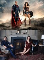 Man Of Steel x Amazon Princess - League of Two by GabeCurly