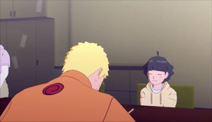 Naruto and Himawari Road to Boruto by AiKawaiiChan