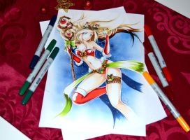 Mistletoe Janna by Lighane