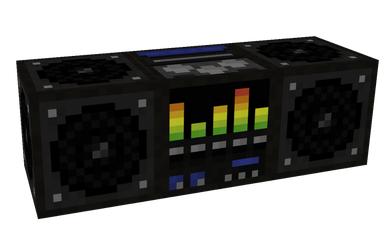 Minecraft Boombox by AziasCreations
