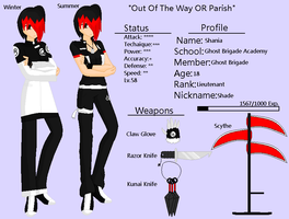 GB Profile: Shania 2nd Outfit by KitsuneHavoc