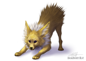 Eevee Week - Jolteon by Imaginary-Rat