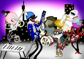 Regular Show - Baby Lets Just Party Tonight by vaness96