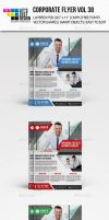 Corporate Flyer Template Vol 38 by jasonmendes