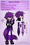 Night the Shadow REF 2014 by KenotheWolf