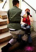 Redfield Reunion by ChaoticClaire