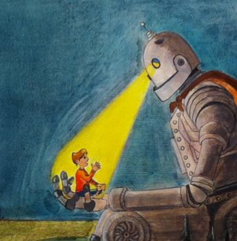 Iron Giant Crop by heatherlynnharris