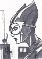 SketchCard: Catwoman_2 by Axigan