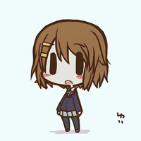 K-On Yui Chibi MINECRAFT PIXEL ART by InfiniteMinecraftArt