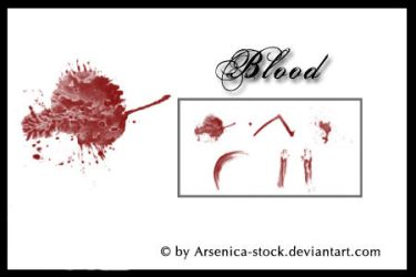 Blood Brush Set by Arsenica-stock
