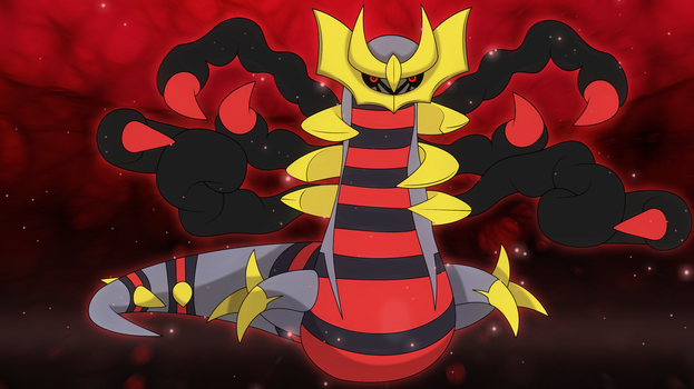 Giratina origin wallpaper by Elsdrake