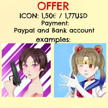 [Offer Commission] Icons 5 SLOT by KiriChan94