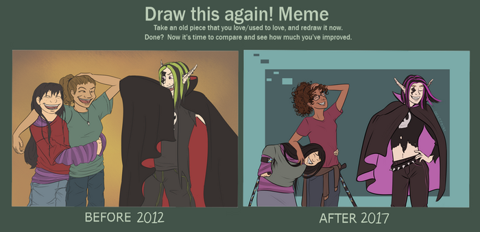 Draw This Again! I Von To by Ogrefairy