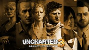 Uncharted 3 - Brown Tone by Dinnyforst