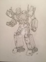 Freight, Autobot Supply Specialist OC by Thehoodedteddy13