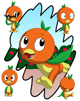 Orange Bird by ErnestoGP