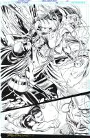 TEEN TITANS 93 P 10 - 3/4 PG SPLASH RED ROBIN Sold by DRHazlewood