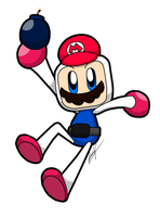 Hey look, It's Bomberman! by GSVProductions