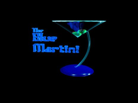 The Blue Martini by Sneaks77