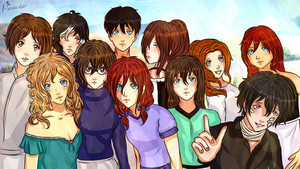SNK / AOT : Its Selfie Time ! by Pexxastar