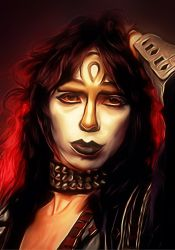 Vinnie Vincent of Kiss 1982 by petnick