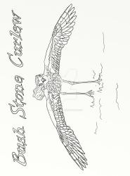 Page 20 of Australian Birds Adult Coloring Book by LorraineKelly