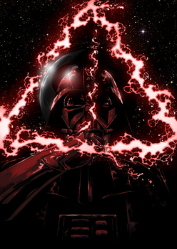 Wizard Vader - commision by ilustrajean