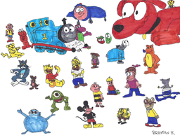 My Childhood Favorites by BrendanDoesArt