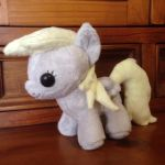 MLP: Derpy Filly Plushie by ChibiTigre