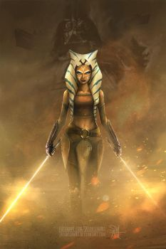 Ahsoka Tano by JasonsimArt