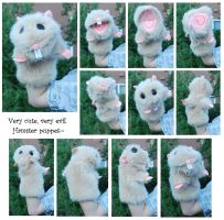 Hamster puppet by CrowMaiden