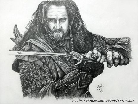 Thorin by Grace-Zed