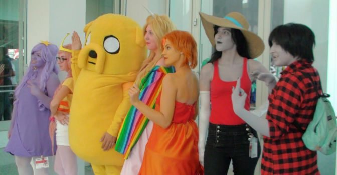 Cosplays from Adventure Time at AX 2013 by trivto