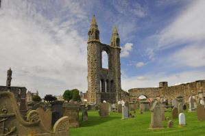 St. Andrews Cathedral II by artismagica