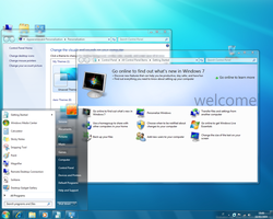 Windows 7 Build 7057 Screen by nightmare333