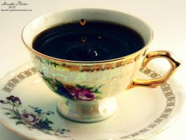 cup of coffee by Alouette-Photos