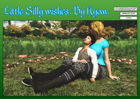 Little silly Wishes. Cover. by nyom87