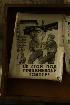 Old safety poster by RUYK