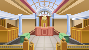 Equestrian Courtroom (1st Design) by TheAljavis