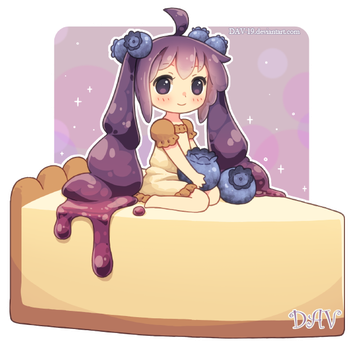 Blueberry Cheesecake by DAV-19