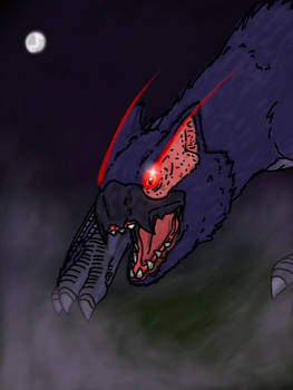 Nargacuga higher res\alrernate by dinomaster15