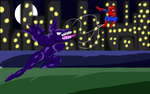 Spiderman vs Venom by Thesimpleartist4