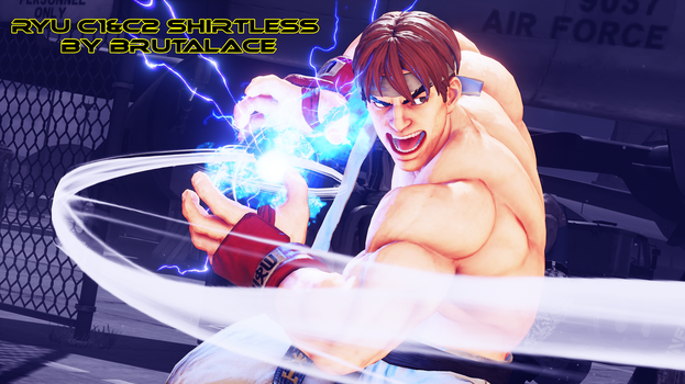 Ryu C1 and C2 Shirtless by BrutalAce
