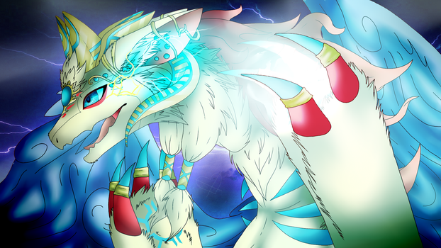 .:Alfheimr, Sacred Light Dragon:. by beautiful-fandom