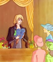 Moving Castle (book): Howl by SweetieFox
