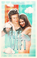 Free WiFi // Book Cover by moonxriver