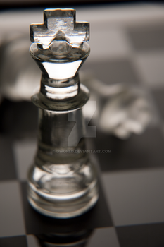 Chess King in Glass by dworld