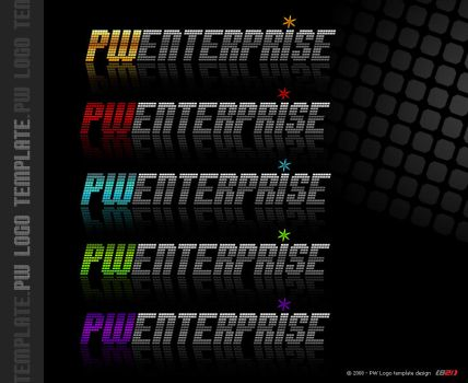 PW Enterprise Technos Logo 2 by B21